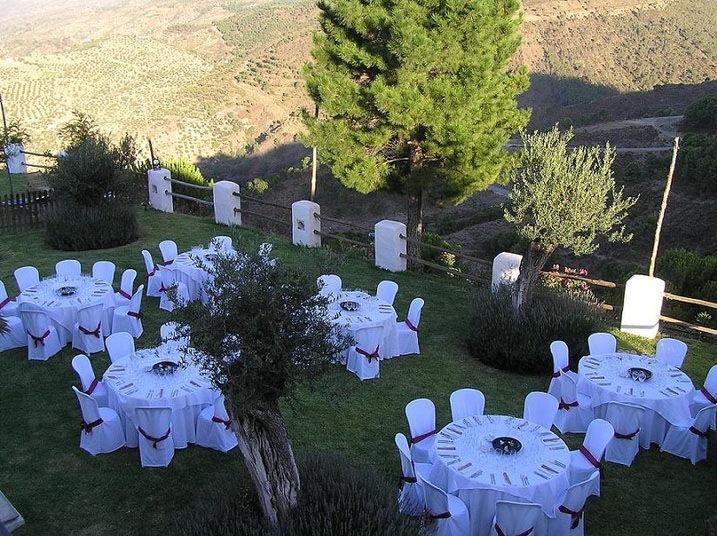 Exteriores para boda
