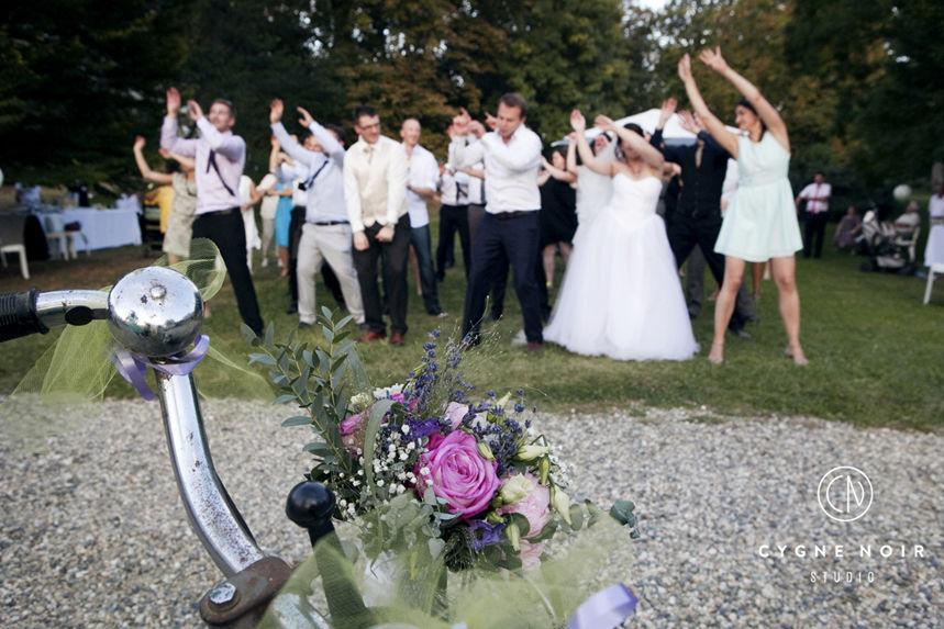 Cygne Noir pour La Fabrique à mariage