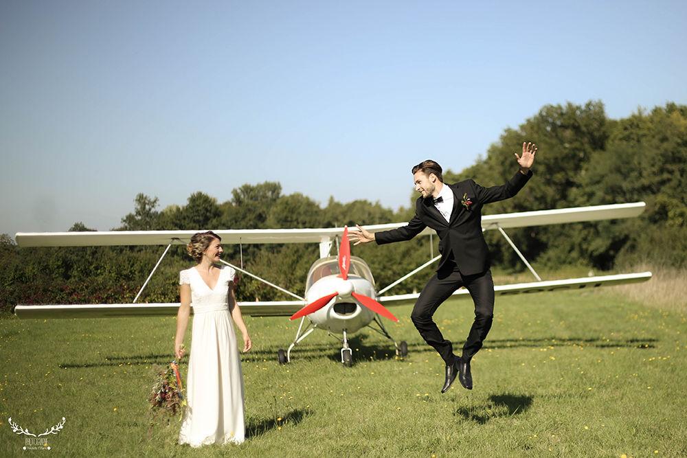 Mariage  Thème : Aérodrome