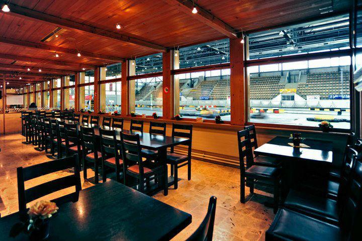 Beispiel: Restaurant, Foto: Karting Expodrom.