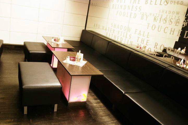 Beispiel: Sitzmöglichkeiten, Foto: A-Lounge Berlin.