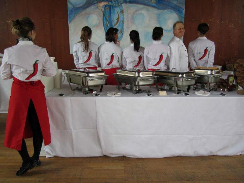Beispiel: Warme Buffets, Foto: Pfefferschote Köln.