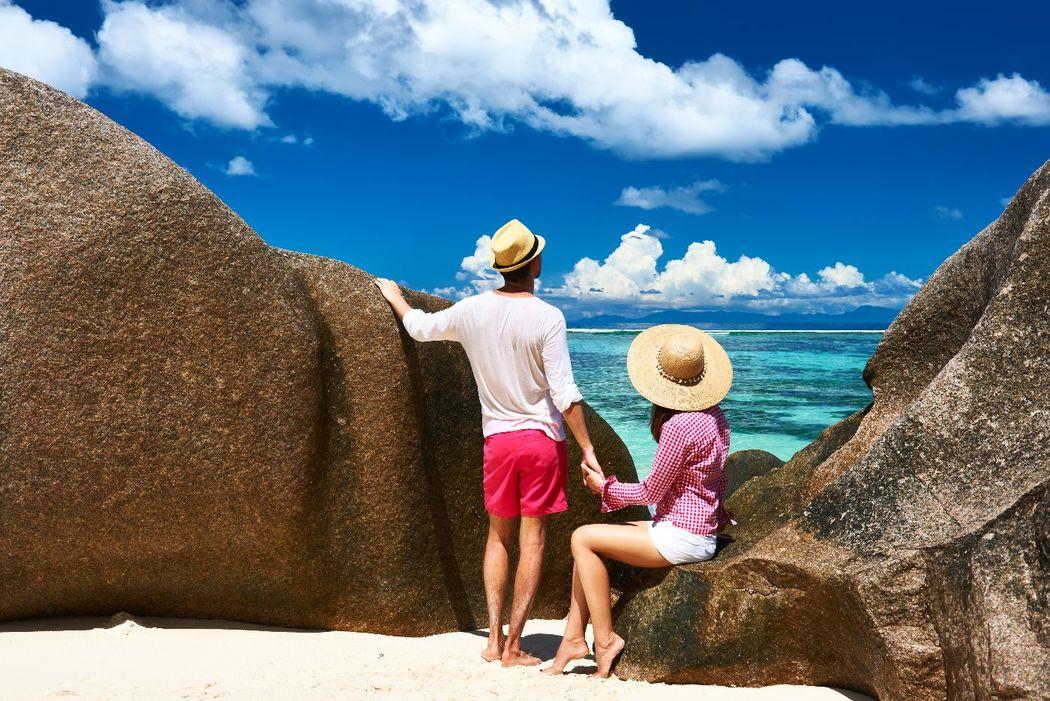 Admirez l'océan de la plage Anse Source d'Argent à la Digue, aux Seychelles