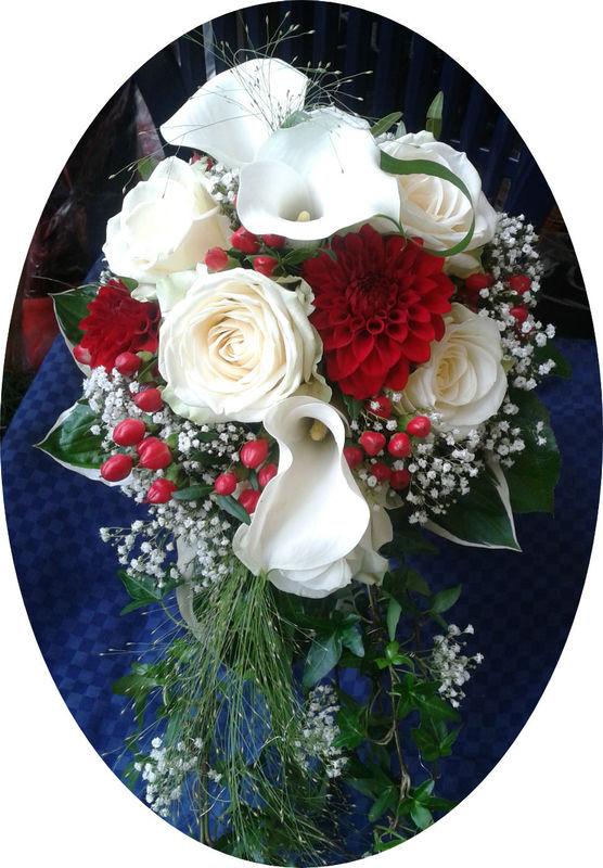 Beispiel: Persönliche Sträuße, Foto: Blumen Reichert.