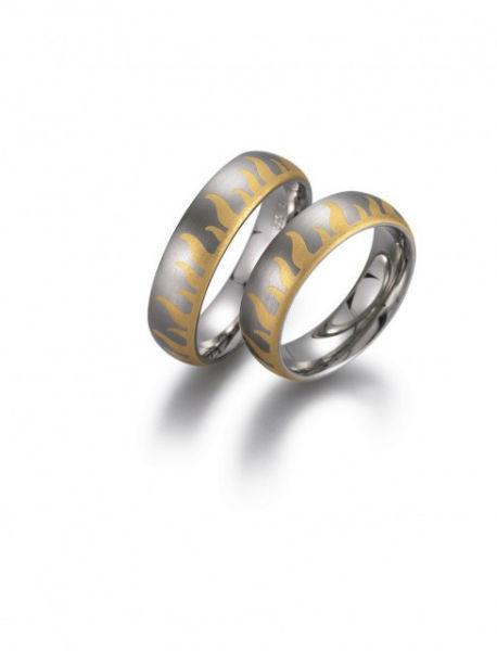 Beispiel: Individuelle und einzigartige Ringe, Foto: Das Trauringhaus.