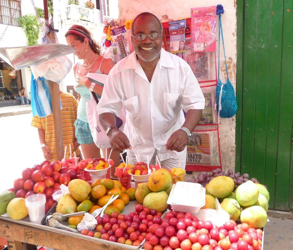 Frutas y Colores de Cartagena Colombia