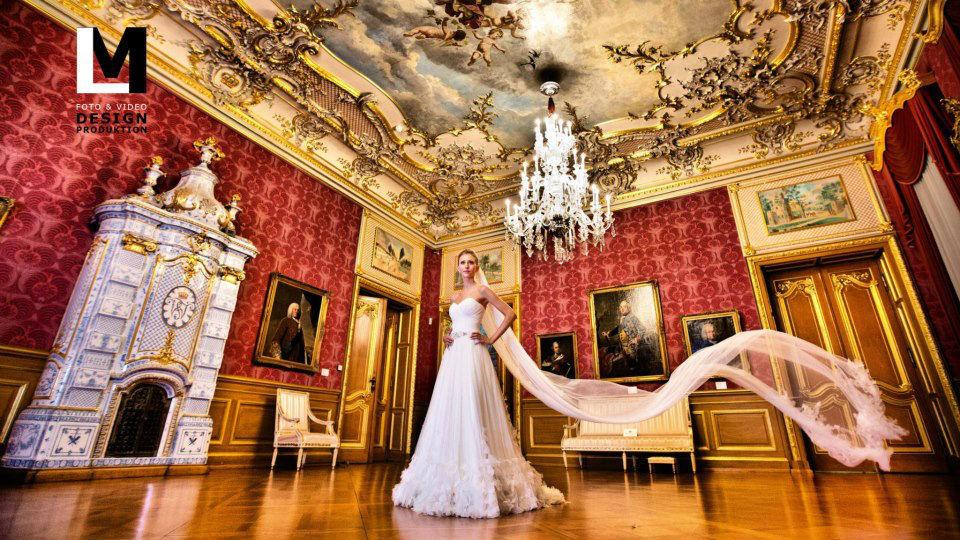 Beispiel: Portrait der Braut, Foto: Lazeta Media.
