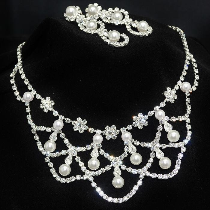 Parure de bijoux Valse - Bijoux de Mariage