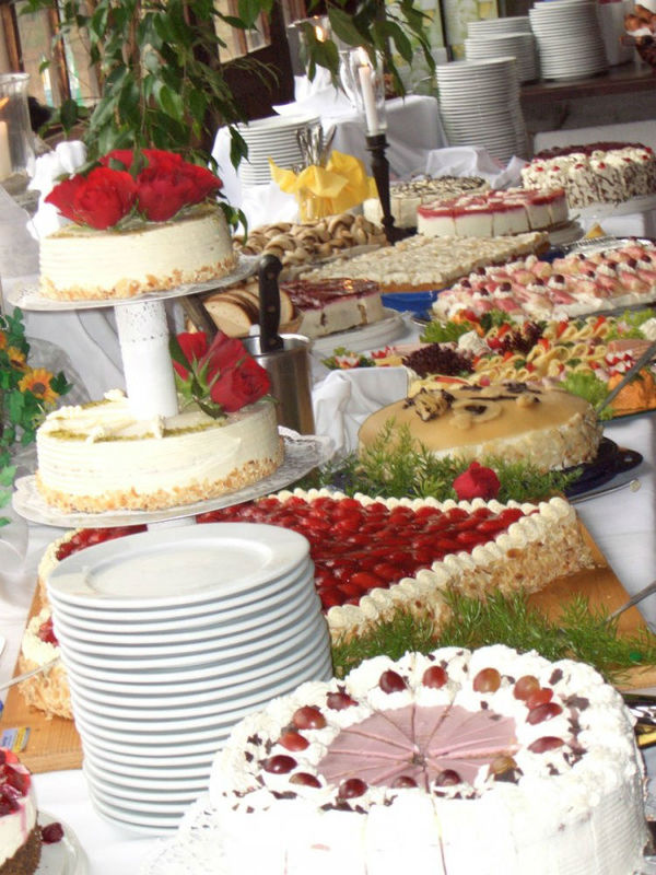 Beispiel: Kuchenbuffet, Foto: Eventstadl