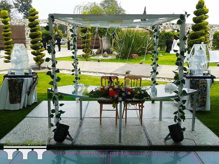 Quinta Aidel, jardín para que celebres tu boda en Puebla