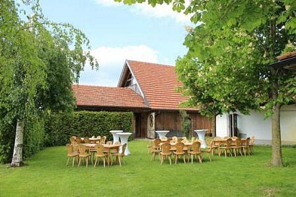 Beispiel: Garten, Foto: Landgasthof Lenderstuben.