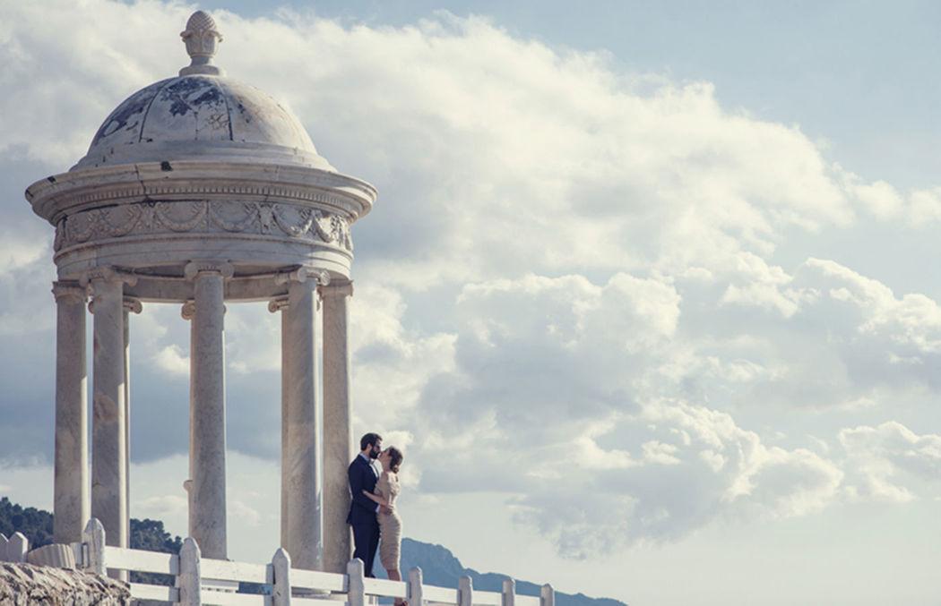 Boda Romántica junto al mar en Mallorca