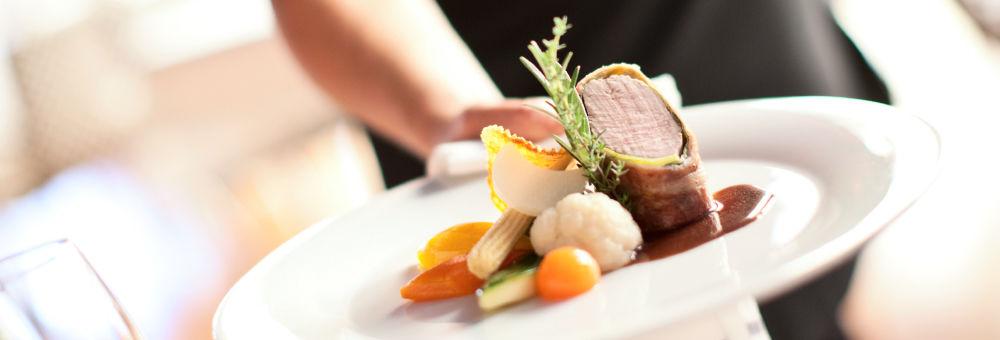 Beispiel: Hauptspeise, Foto: Restaurant VA BENE.