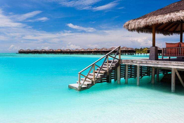 Polinesia  - Moorea Over Water Bungalow -