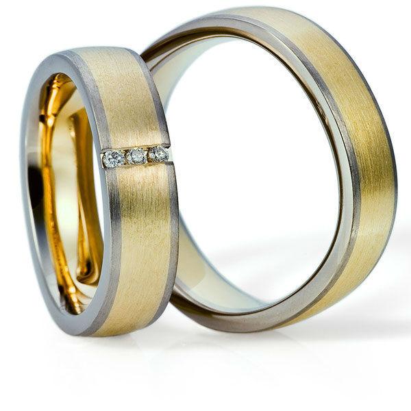 Beispiel: Trauringe - Multicolor, Foto: Juwelier Stöckle.
