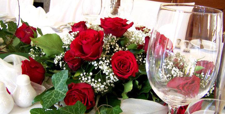 Beispiel: Blumenschmuck, Foto: Haus Sanssouci.