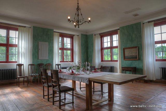 Beispiel: Speisesaal, Foto: Schloss Schmarsow.