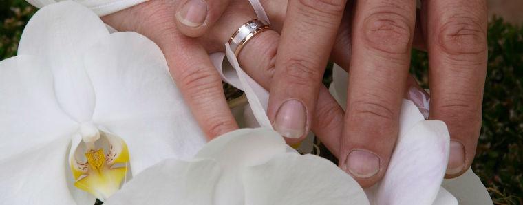 Beispiel: Brautpaar, Foto: Relexa Waldhotel Schatten.