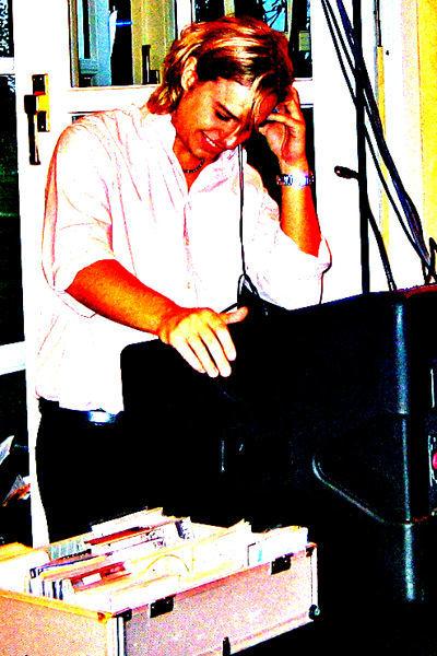 Beispiel: Auftritt, Foto: DJ Stefan.
