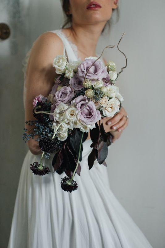 Allium By Olympia- ramo de novia tradicional foto: @mmeweddings
