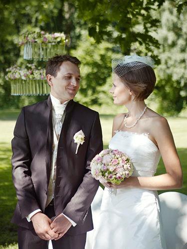 Beispiel: Brautpaar, Foto: Annika Wietzorke - Hochzeitsplanung & Eventdesign.