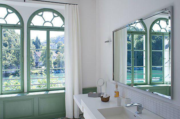 Beispiel: Badezimmer, Foto: Gasthof Hirschen.
