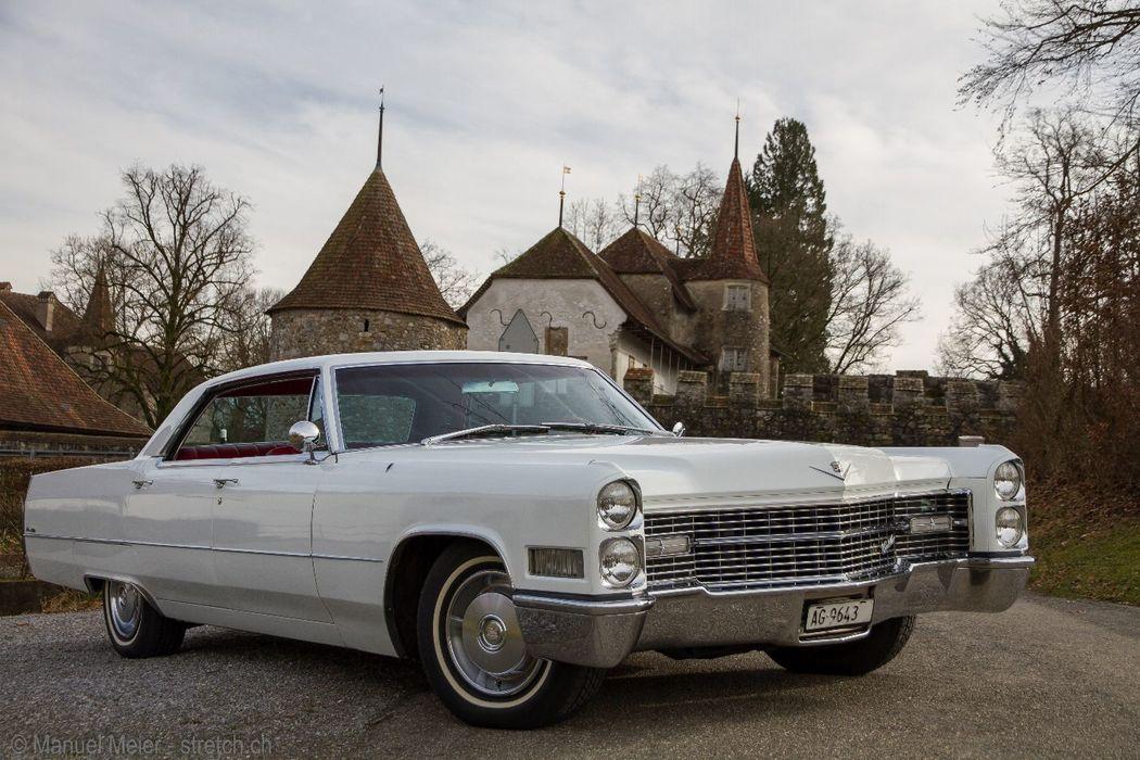 Cadillac De Ville mieten Kiwi's Limousines Ltd.