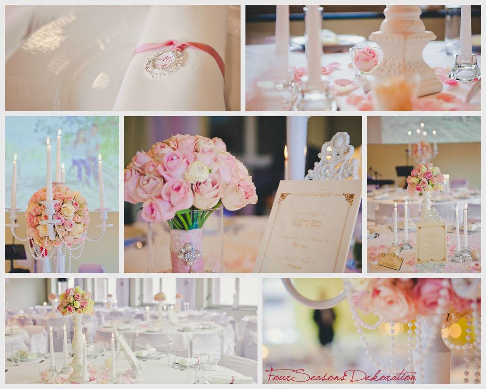 Elegant, romantisch, hell! Bei uns bekommen Sie nicht nur die Blumen, sondern auch das passende Drumherum.