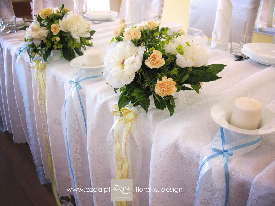 Dekoracje ślubne Azea