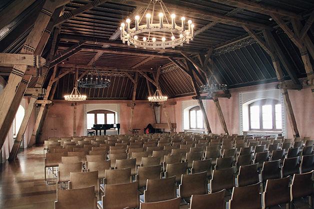 Beispiel: Großer Rittersaal, Foto: Schloss Rapperswil.