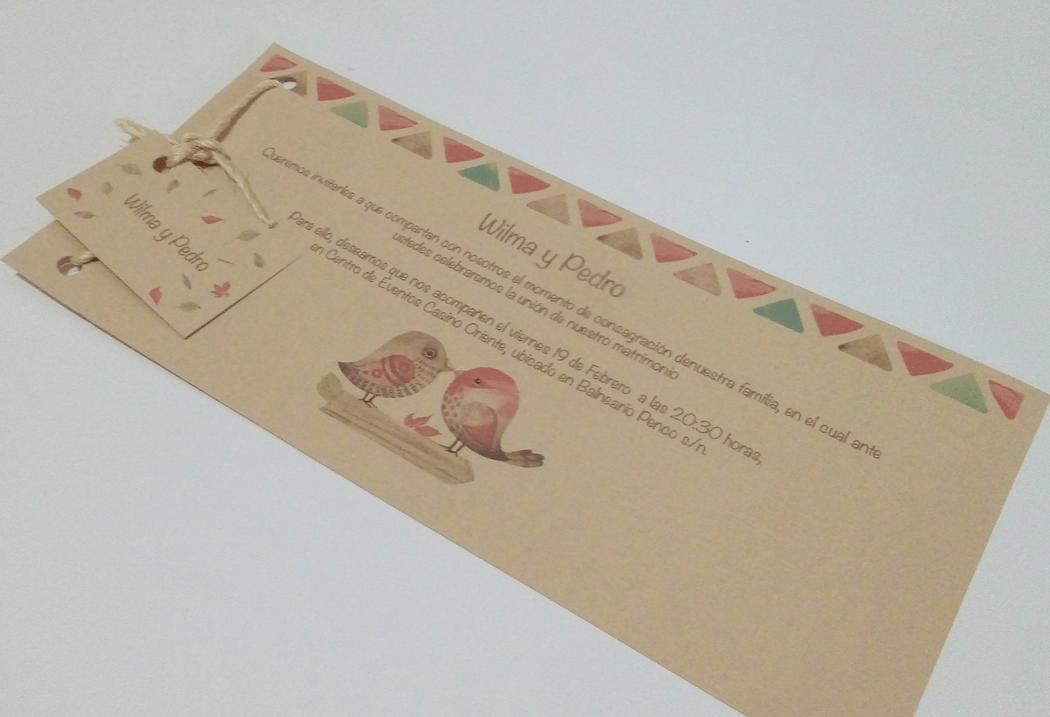 Invitación cod. 006