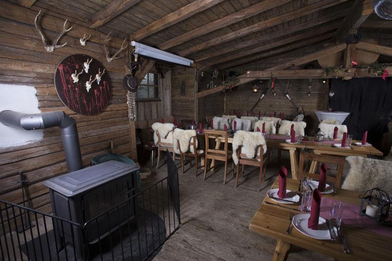 Beispiel: Hütte, Foto: Kastaniengarten.