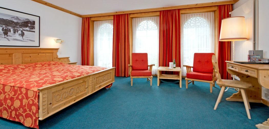 Beispiel: Hotelzimmer, Foto: Hotel Edelweiss.