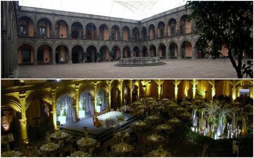 Colegio de Vizcaínas en el DF para que celebres tu boda a lo grande
