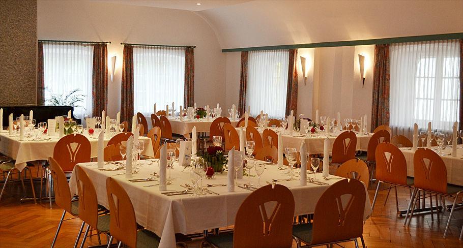 Beispiel: Festsaal, Foto: Hotel Gasthaus Adler.