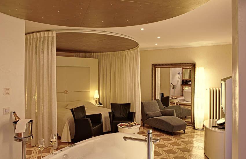 Beispiel: Zimmer, Foto: Hotel des Balances.