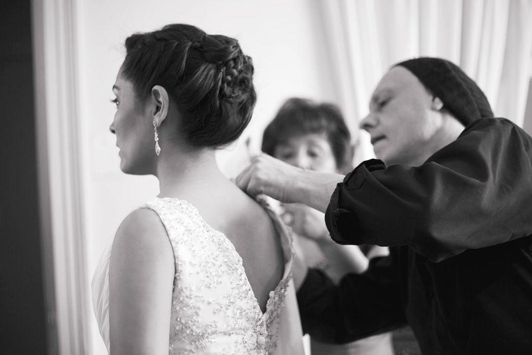 Preparación del novia