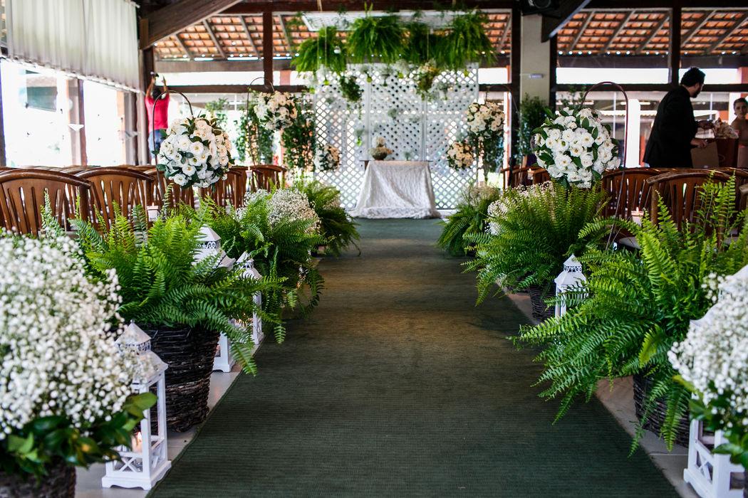 Decoração Arte em flor® - Cerimonia no local Maggiore
