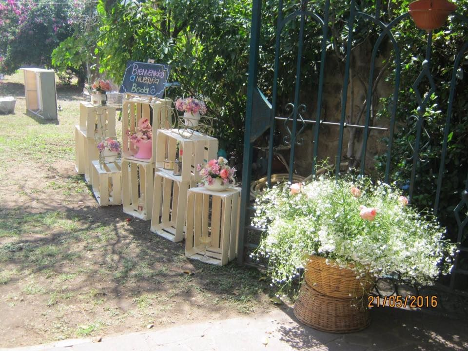 entrada para boda civil  vintage