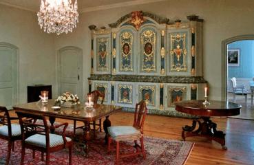 Beispiel: Bibliothek, Foto: Schloss Ahrensburg.