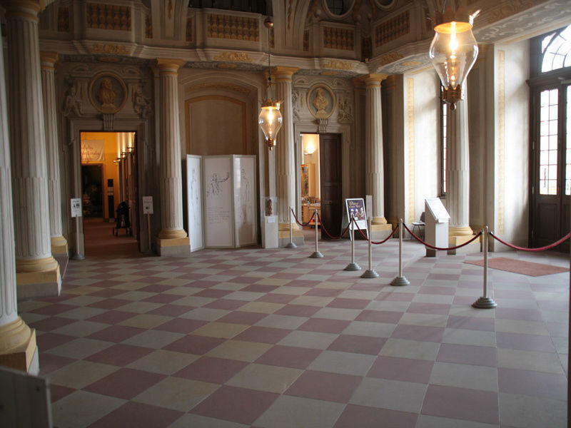 Beispiel: Intrada, Foto: Schloss Bruchsaal.