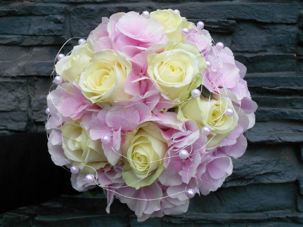 Beispiel: Brautstrauß, Foto: Art Fleur – Floristik aus Holland.