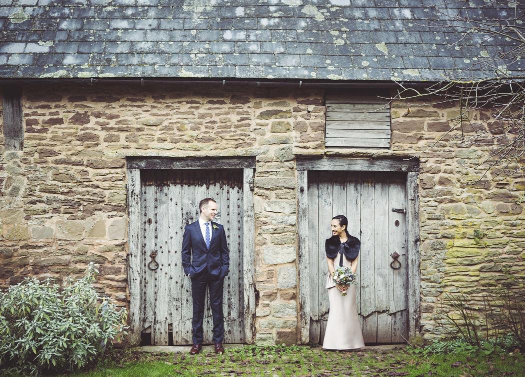 Winter Wedding at Dewsall Court, Hereford