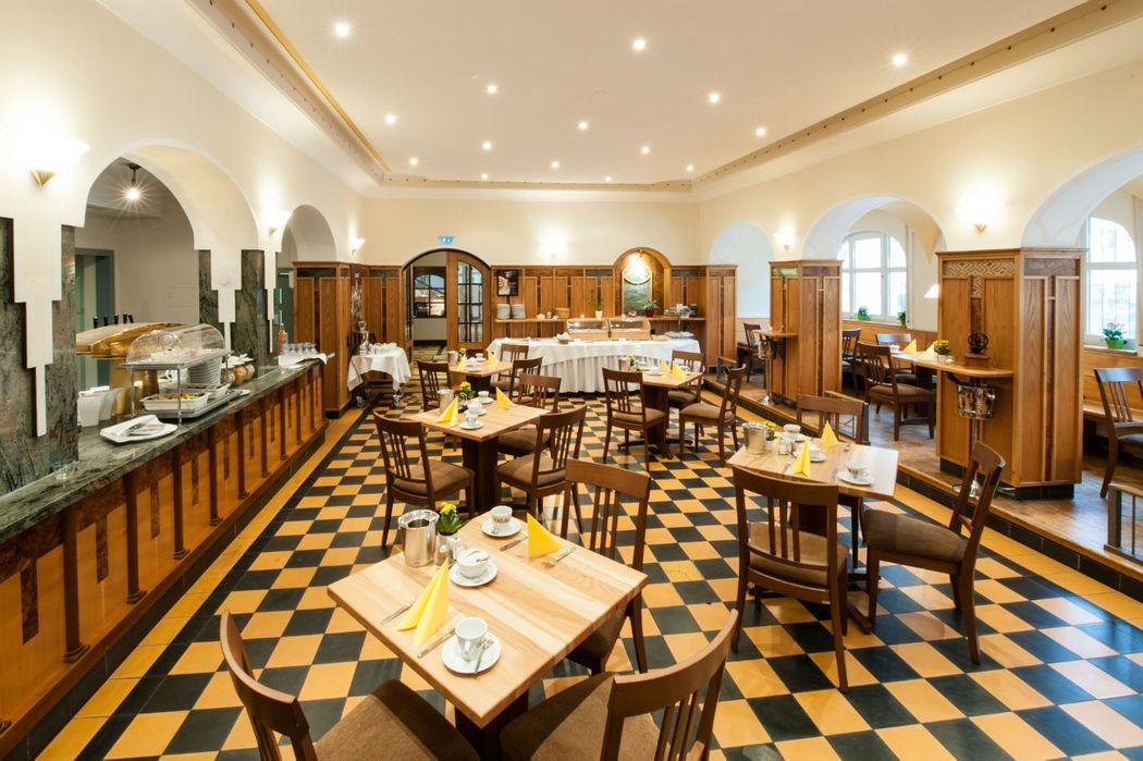 Beispiel: Frühstücksraum, Foto: Landschloss Korntal.