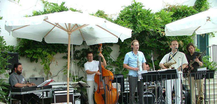 Beispiel: Musikalische Untermalung Foto: Schloss Kapfenstein.