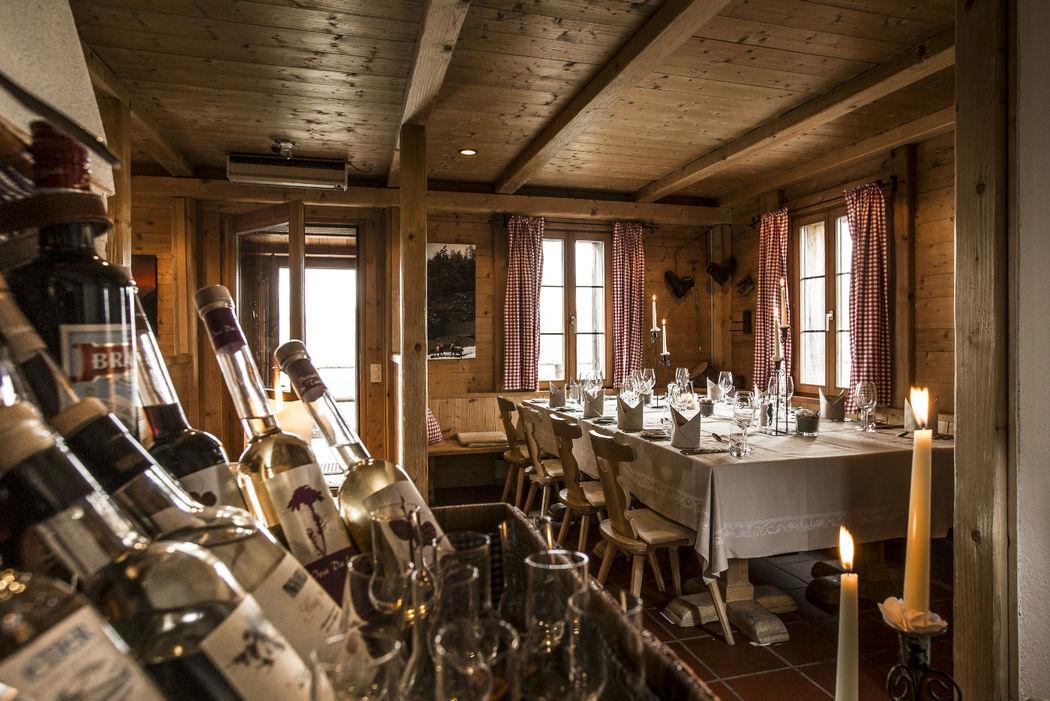 Villa Lyss, ein liebevoll umgebautes Maiensäss, nur wenige Schritte vom Romantik Hotel Muottas Muragl entfernt