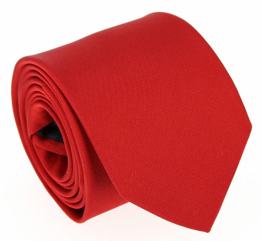Cravate en soie rouge anglais - Maison de la Cravate