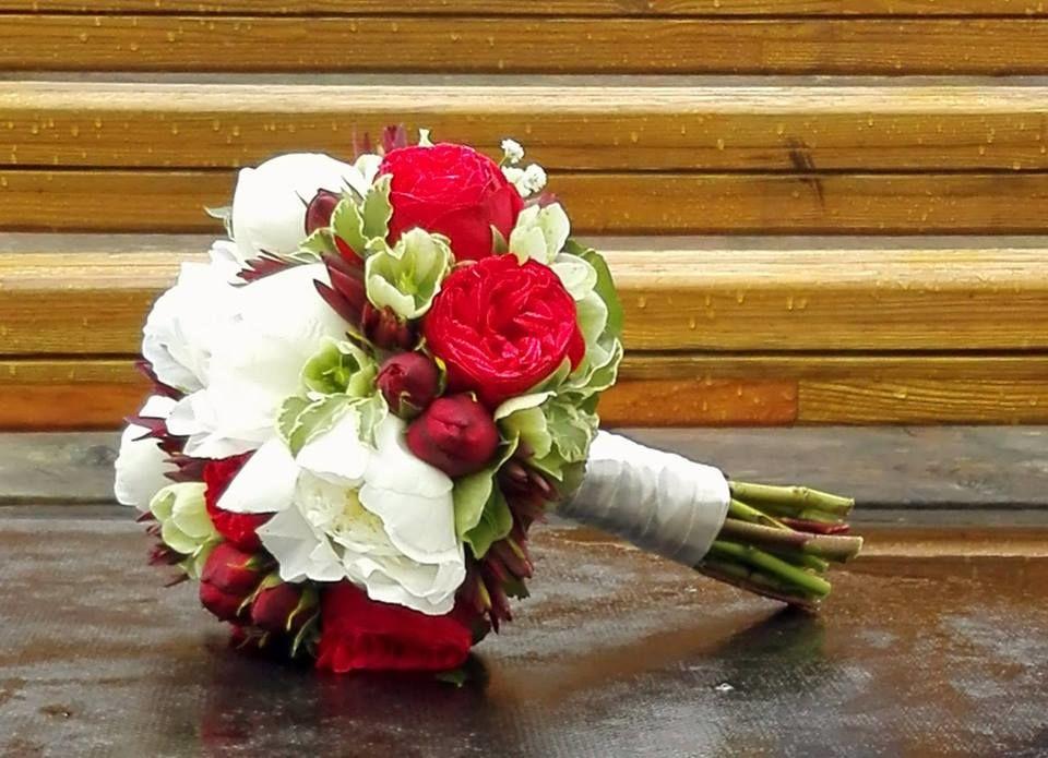 Bouquet de Noiva Peoneas e Piano Roses