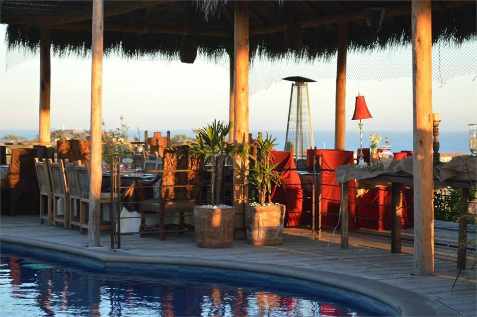 Restaurant Villa Serena en Cabo San Lucas.