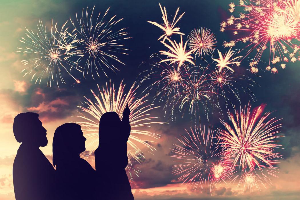 Jour 2 reve Un feu d'artifice pour l'ensemble des convives une belle surprise
